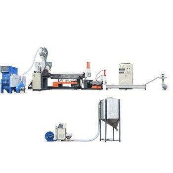 Pp Pe Film Granules Making Machine LDS-120-115 Special Screw Design